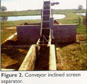 conveyor inclined screen separator