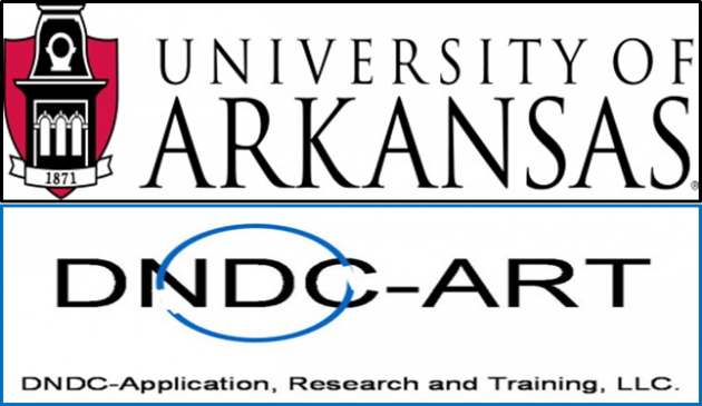 University of Arkansas DNDC-ART logo