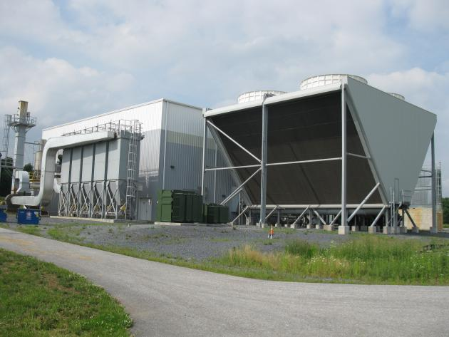 Exterior of factory processing