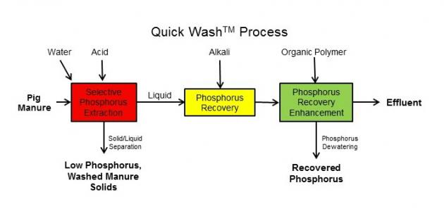 diagram of the quick wash process