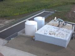 figure 2. overhead view of nutrient recovery system